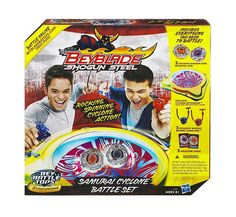 3. Beyblade Samurai Cyclone Battle Set