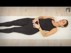Progressive Muskelrelaxation (PMR) im Liegen - YouTube