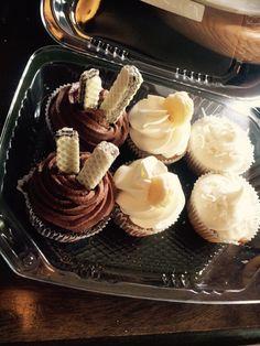 Cupcakes nutella,plátano y limón ..