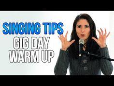 Freya's Singing Tips: Gig Day Vocal Warm-Up Routine. Vocal Lessons, Singing Lessons, Singing Tips, Music Lessons, Vocal Warm Up Exercises, Singing Techniques, Warm Up Routine, Workout Warm Up, Piece Of Music