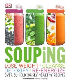Best Cleanse, Soup Cleanse, Detox Soup, Healthy Soup Recipes, Cooking Recipes, Canning Soup Recipes, Blender Recipes, Delicious Recipes, Get Healthy