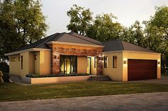 Rustic Modern - Riverbank Single Storey Home Design Image by Boyd Design Perth