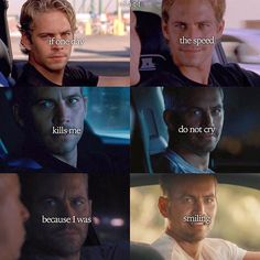 brian o'connor - Paul Walker