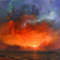 Thomas O'Brien Gallery of Original Fine Art Art Thomas, Gallery Website, Aesthetic Painting, Sunset Colors, Color Studies, Okinawa Japan, Canvas Paintings, Pictures To Paint, Sunsets