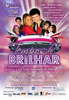 Tempos de Brilhar em breve nos teatros cariocas - Cine Planeta