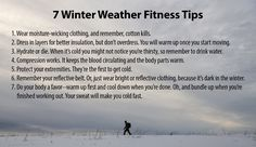 Follow the link for more great winter workout tips: http://health.mil/News/Articles/2016/01/04/Exercising-in-cold-weather-Some-helpful-guidelines