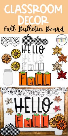 8 Farmhouse Classroom Essentials - Confetti and Creativity Welcome Bulletin Boards, Summer Bulletin Boards, Teacher Bulletin Boards, Reading Bulletin Boards, Preschool Bulletin Boards, Bulletin Board Display, Fall Classroom Door, Fall Classroom Decorations, Seasonal Classrooms