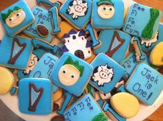 Jack and The Beanstalk Cookies
