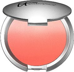 IT Cosmetics CC+ Radiance Ombre Blush is a color correcting + anti-aging blushing veil with hydrolyzed collagen, peptides and Drops of Light Technology..