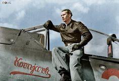 Feldwebel Konrad 'Pitt' Bauer - FW190 A.8 'Rot 3/Kornjark' - II(Sturm)./JG 300, 5 Staffel - Lobnitz, Germany - Sept.'44