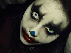 clown make up 25 Exceptional Scary Clown Pictures