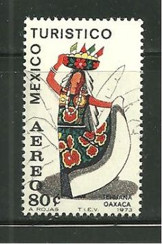 Mexico C-357 MNH Dance with Fruit Basket - bidStart (item 36544026 in Stamps... Mexico)