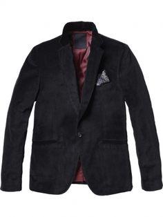 @Scotch & Soda Velvet Men's Blazer