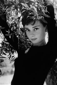 """La Vigna"" outside Rome, 1955. Photograph by Phillipe Halsman. ""Photo Album: My Grandmother Audrey by Emma Ferrer"" Emma Ferrer shares her favorite photographs of her grandmother, Audrey Hepburn. PY has 1955"