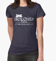 Dragonfly Inn shirt - Gilmore Girls, Stars Hollow, Lorelai, Rory by fandemonium