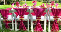 Kids Wimbledon chairs, Princess party decor