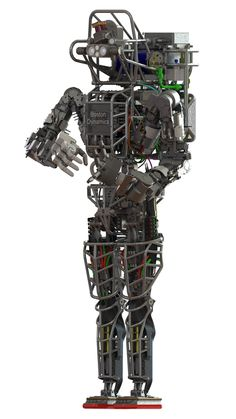 Atlas, A Six-Foot-Tall Humanoid Robot With Articulated Hands and Joints by Boston Dynamics