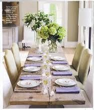 Ina Garten's dining table