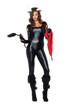 She goes crazy when she sees red! This Sexy Bull Costume will make you the sexiest animal with horns to ever exist.