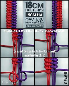 Image gallery – Page 456904324695375857 – Artofit Paracord Weaves, Paracord Braids, Paracord Knots, Paracord Bracelets, Paracord Tutorial, Bracelet Tutorial, Macrame Knots, Micro Macrame, Rope Crafts