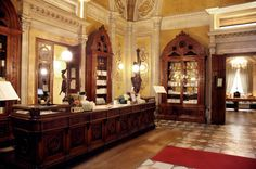 The original Santa Maria Novella apothecary is in Florence (the oldest continually-open and most prestigious pharmacy in the world) and is almost 800 years old, having been established by the Dominican Fathers shortly after 1221