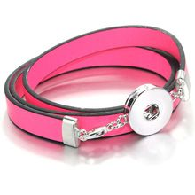 US $1.84     Buy Jewelry At Wholesale Prices!     FREE Shipping Worldwide     Get it here ---> http://jewelry-steals.com/products/6colors-2016-fashion-candy-color-leather-18mm-metal-snap-button-bracelet-jewelry-for-women-gift-b170-one-direction/    #red_bottom_shoes