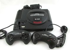 SEGA Genesis 16 Bit Console Model 1601  Power Supply Controllers  #TBT #throwbackthursday
