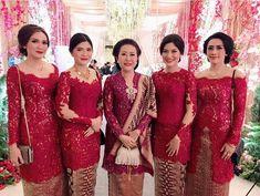 Kebaya Lace, Kebaya Brokat, Dress Brokat, Kebaya Dress, Kebaya Sabrina, Modern Kebaya, Indonesian Kebaya, Kebaya Wedding, Hijab Dress Party