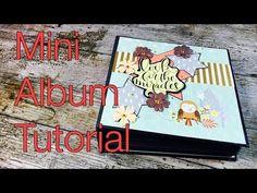 Scrapbook ---Mini-Album---Forest Friends ---DIY---[tutorial   deutsch] - YouTube