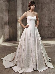 Hochzeitskleider 2017: Voluminös, royal und klassisch von Badgley Mischka