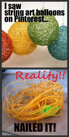Pintrest Vs. Reality