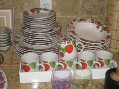 Strawberry Dishes Kitchen By Korin Published January 16 2015 Full Size Is