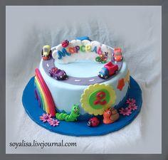 Торт с машинками. - soyalisa