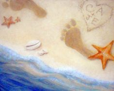 I am going to paint Toes in the Sand at Pinot's Palette - Ellicott City to discover my inner artist!