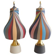 Colored Porcelain Urns by Peter Pincus, 2015 | See more antique and modern Vases and Vessels at https://www.1stdibs.com/furniture/decorative-objects/vases-vessels