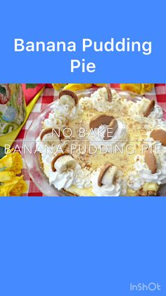This No Bake Banana Pudding Pie Won First Place. The Pie Contest Is Held Each April At Root Cafe In Little Rock. If you are a banana pudding fan, you have to try this easy banana pudding pie. The banana pudding filling is thickened up with cream cheese which makes it easy to slice once it has been refrigerated overnight.   #recipes #easyrecipe #pie #pierecipe #desserts #pies #banana #bananapudding