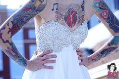 #brideswithtattoos