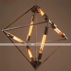 New Design Vintage Retro Loft Industrial Pendant Lamp Pendant Lighting 6 Light E27 2015 – $268.99