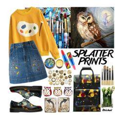 Splatter Prints