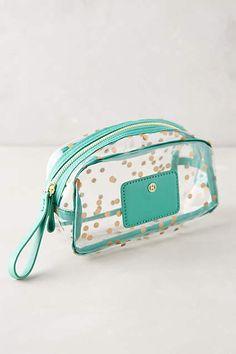Splendent Spot Cosmetic Bag - anthropologie.com