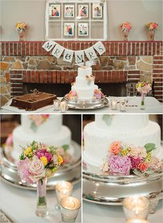 cake display // vintage // romantic // whimsical