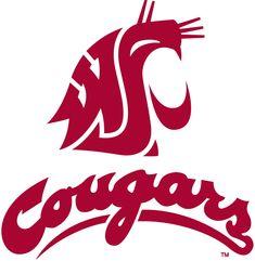 Washington State Cougars Football logo | Other Washington State Cougars Logos and Uniforms from this era
