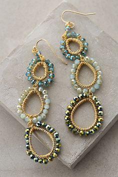 Beaded Lochan Earrings #anthropologie