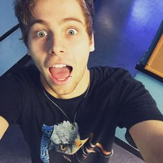 lol he is cute and and also Ash and also Cal and also Mikey haha true fackt my life is fucked up