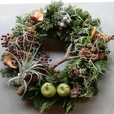 Fresh Christmas Wreaths | Fresh Christmas Wreath | フレッシュ・クリスマス・リース