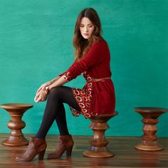 FOSSIL® Clothing Dresses & Skirts:Women Ginger Dress WC8423