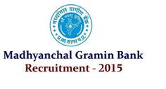 Madhyanchal Gramin Bank 97 Officer Scale-I Posts Recruitment 2015