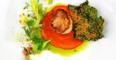 Scallop / Carrot / Kale - Chef Kevin Meehan