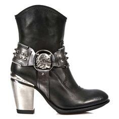 New Rock M.TX001-C1 Half-Boots
