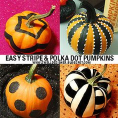 stripe&polka-dot-pumpkins-swelldesigner.blogspot.com by swelldesigner, via Flickr